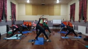 Yoga at St. Mark's, Woolston